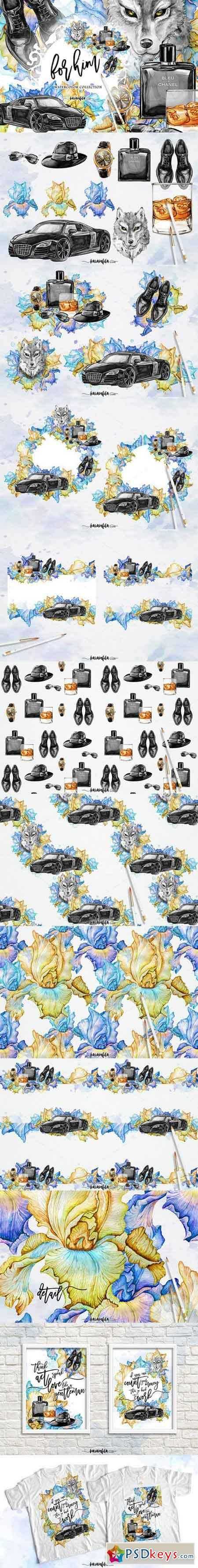 Mens Fashion Clipart - For Him 807289