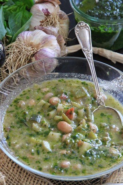 Soupe au pistou de Provence à voir sur quatresaisonsaujardin.blogspot.fr