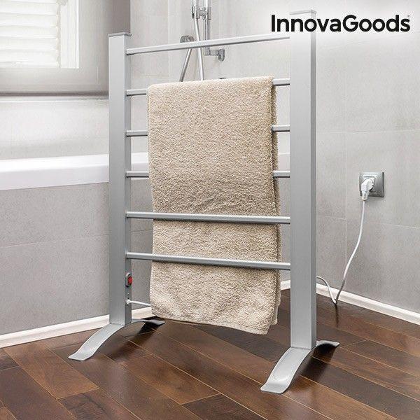 Elektrischer Handtuchhalter In Grau 6 Rippen Fur Ihr Bad