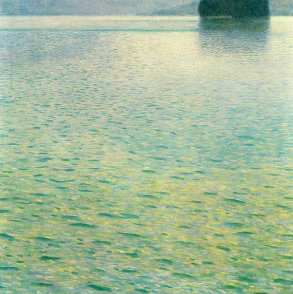 《阿特湖中的小岛》1902
