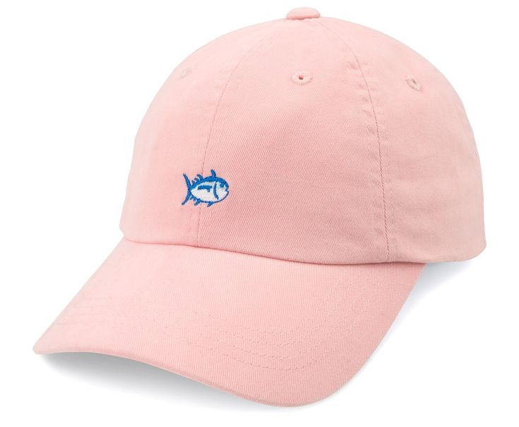"The most popular Skipjack hat features the Southern Tide embroidered Skipjack logo on the front while the back includes blue ""Southern Tide"" embroidery and adjustable strap allowing for comfortable we"
