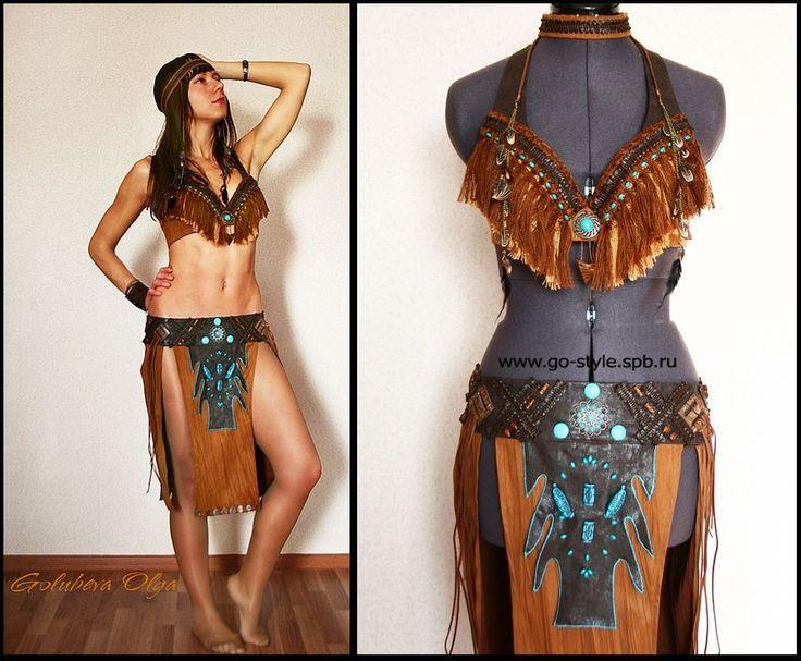 одежда индейца