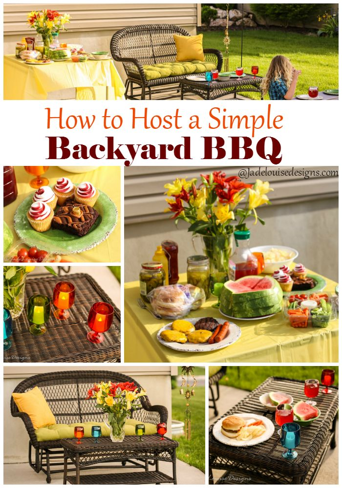 How to host a Backyard BBQ with Pier 1 Imports  #Pier1Outdoor #SummerOfEntertaining AD