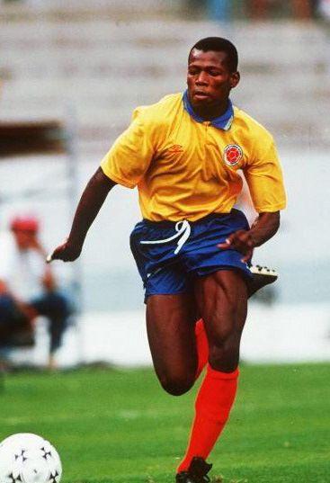 Faustino, uno de los mejores delanteros colombianos de toda la historia