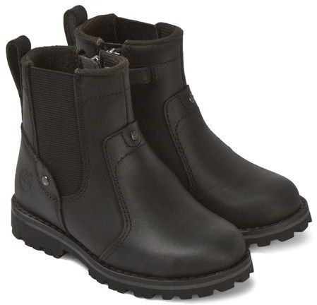 Timberland Black Leather Chelsea Boots
