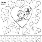 Free worksheet! If you like please rate me. I will be adding a new page with a blank template so you can create your own Valentine's Day themed wor...