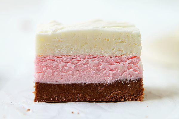 Neapolitan Fudge! A Great NO BAKE dessert!