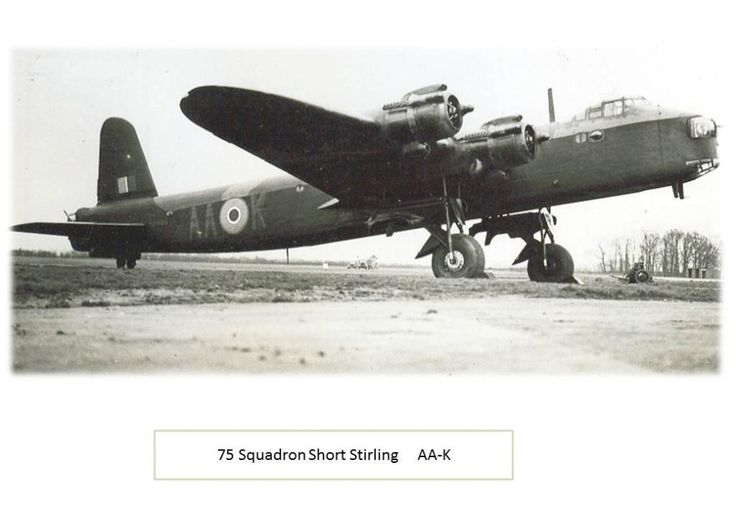 Acknowledgement must go to Short Stirling RAF Bomber Command Forum for a lot of…
