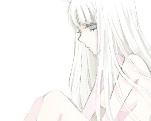 She Is My Queen Feeling Anime Anime Hair Pretty Anime Girl