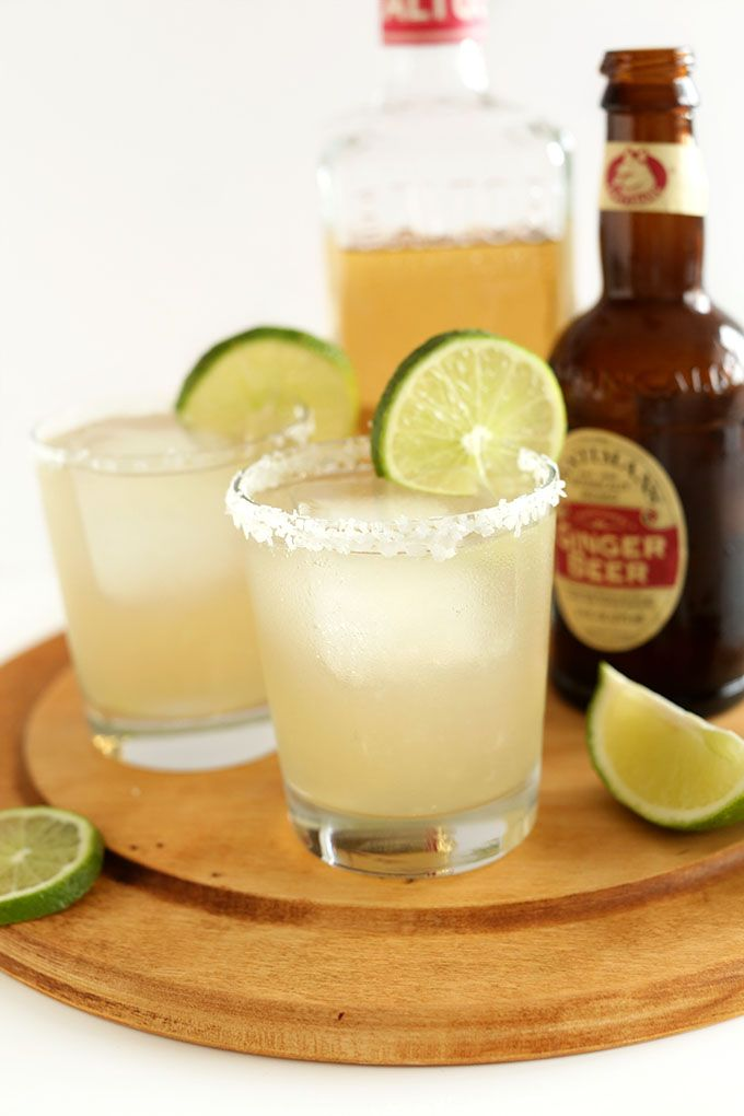 Ginger Beer Margaritas! The best margarita I've EVER had!