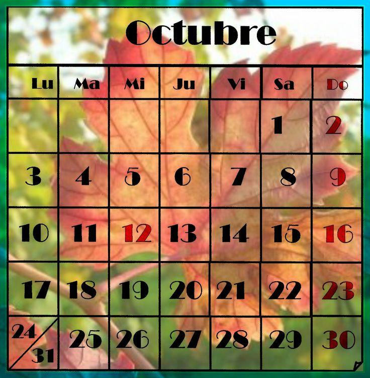 octubre  2016