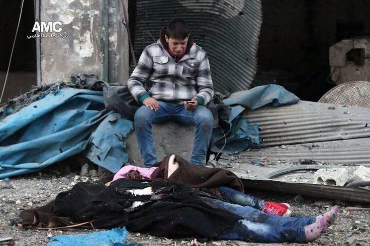 Pikkuvauvan isä Alepposta CNN:lle: Ennemmin kuolen kuin pakenen hallituksen alueelle