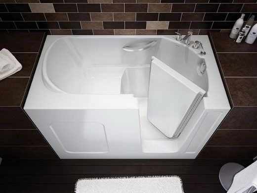 Not only are walk in tubs great for safety and mobility issues, but they allow for a tub in spaces that don't accommodate a traditional tub.