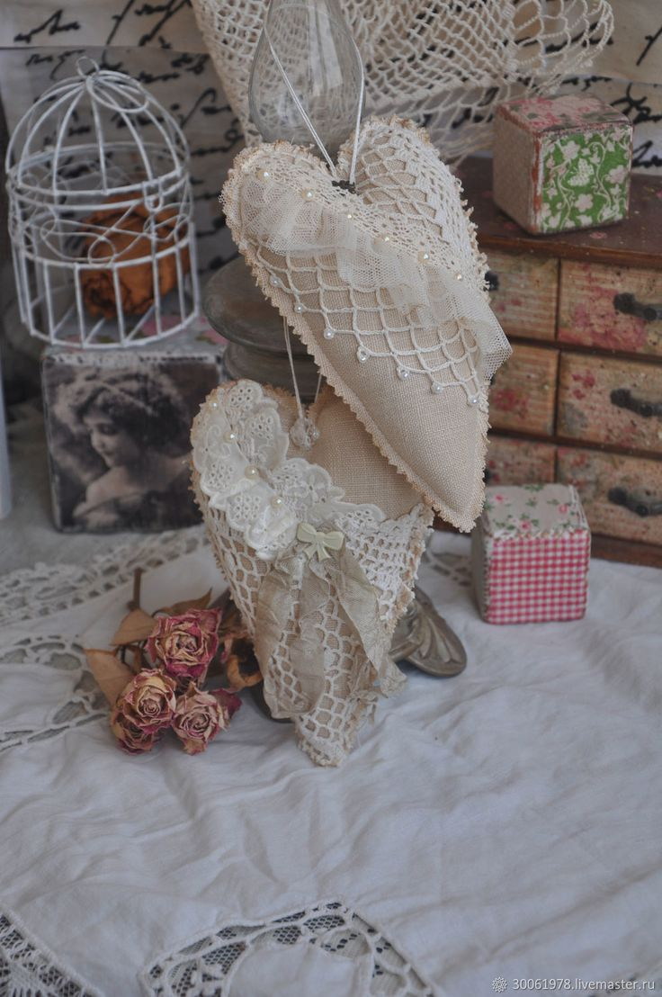 Buy Hearts boho style Tilde - beige, boho, gift, heart