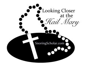 Looking closer at the Hail Mary. Great blog post!