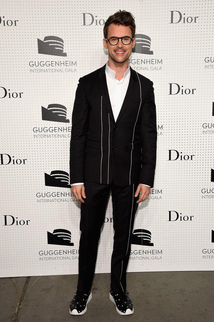 A$AP Rocky, Will Peltz, Brad Goreski + More Attend Guggenheim International Gala Pre Party in Dior Homme image Brad Goreski