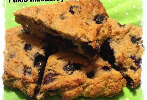 Fast Paleo » Blueberry Maple Scones - Paleo Recipe Sharing Site