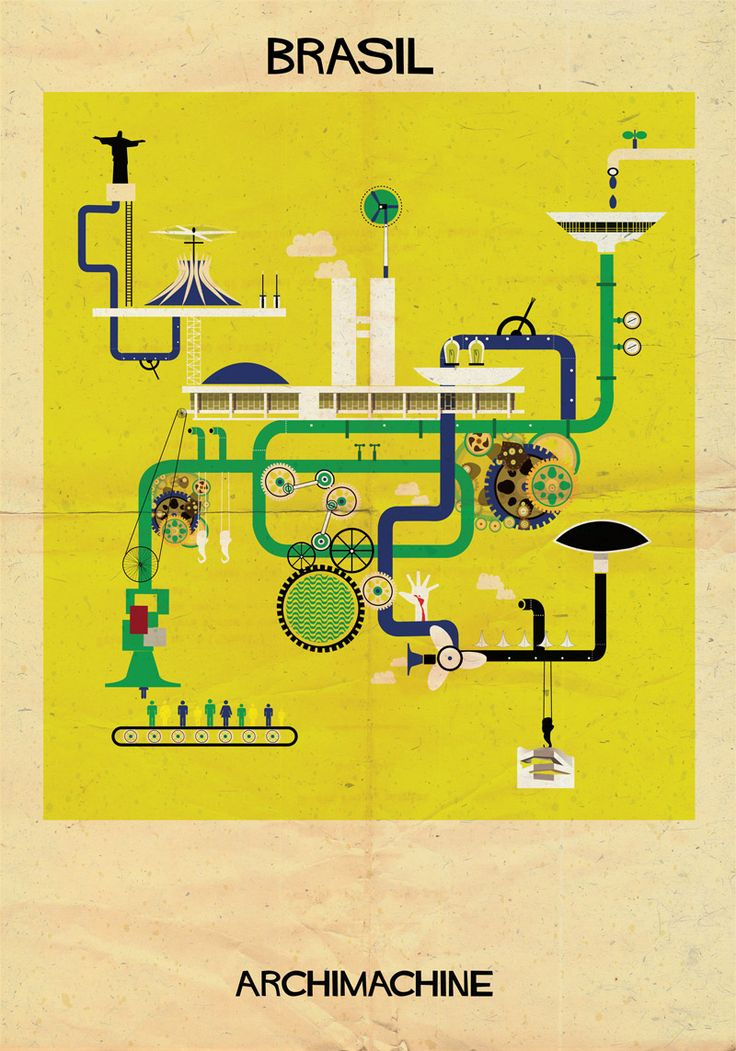 2 | 17 Posters Based On The Architecture Of 17 Nations | Co.Design | business + design