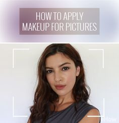 "If you've ever wondered why your makeup doesn't look as good in photos as it does in real life, the reason is that some facial features tend to be ""washed out"" by photography while others tend do be emphasized. In order to look your best in photos, you should adapt your makeup to a more photo-friendly version of it. http://www.ehow.com/how_2306107_apply-makeup-pictures-.html?utm_source=pinterest.com&utm_medium=referral&utm_content=freestyle&utm_campaign=fanpage"