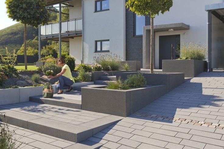 1000 id er om blockstufen p pinterest betonstufen. Black Bedroom Furniture Sets. Home Design Ideas