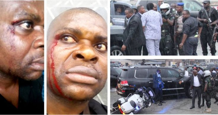 Tension As Wike, Amaechi's Convoy Clash In Port Harcourt (Pictured)