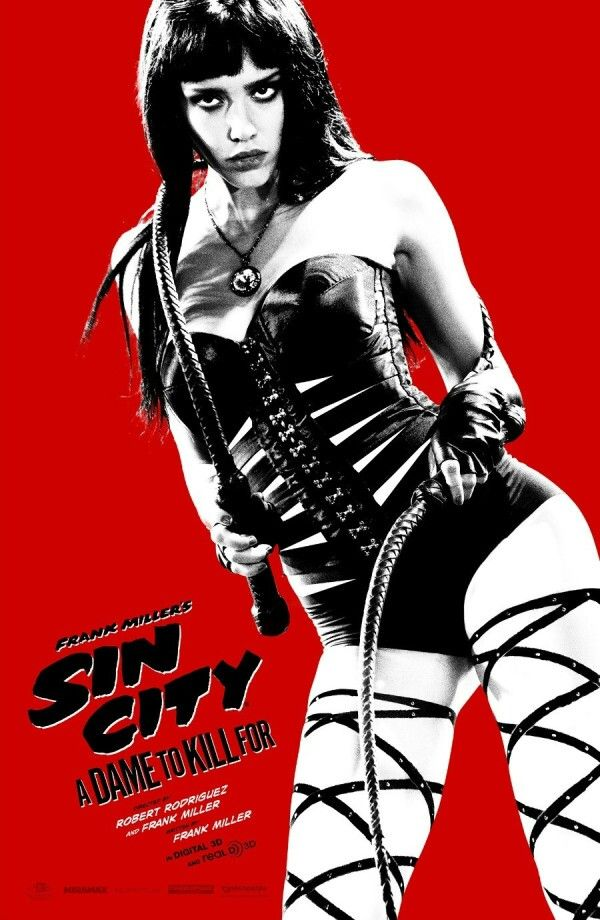 'Sin City: A Dame to Kill For' poster