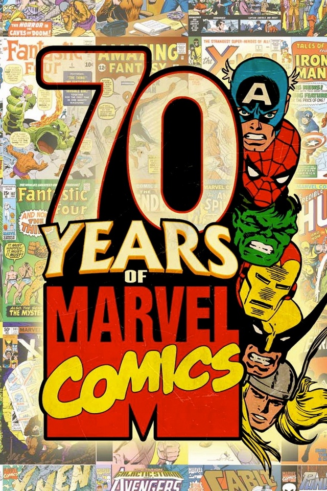 Marvel Comics 70year Anniversary(1939-2009). I grew up loving the Marvel Universe and can still enjoy it.