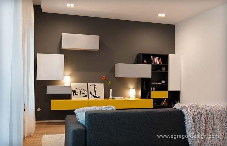 mobilare apartament familial corpuri suspendate canapea mobilier pal mdf