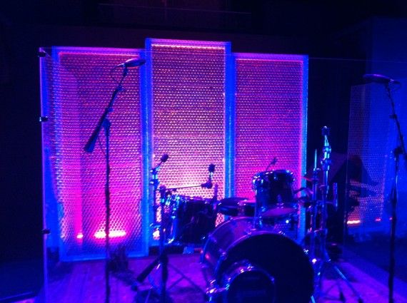 Church Stage Design Ideas For Cheap cheap church stage design ideas cheap diy wedding stage design from adora Bubl Wrap Church Stage Design Ideas Could Do This With Crumpled Screen