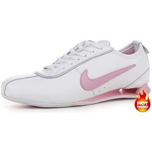 www.asneakers4u.com Womens Nike Shox R3 White Pink