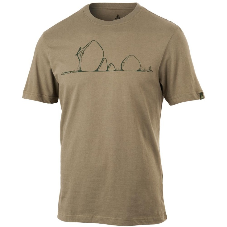Prana Boulder Short Sleeved T Shirt Men S Mountain