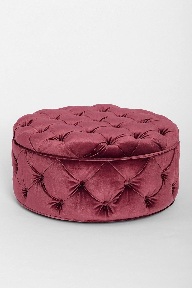 Plum Amp Bow Ava Large Storage Ottoman Urban Outfitters