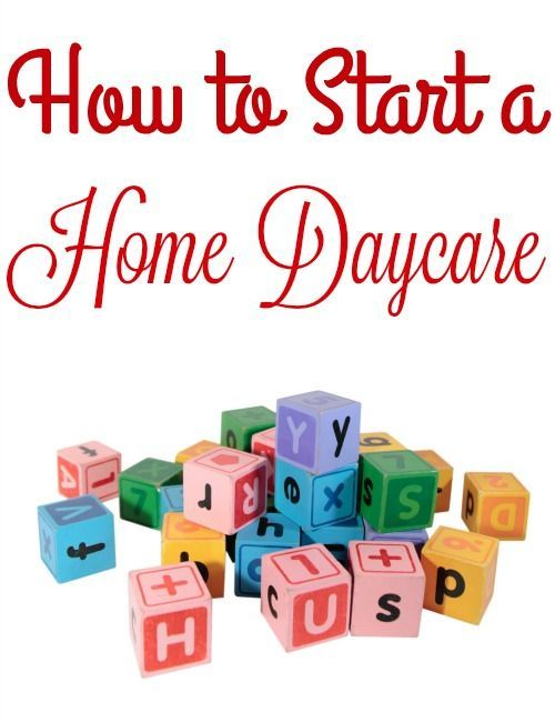 Start Here Daydreaming Center Home Daycare Childcare Starting A
