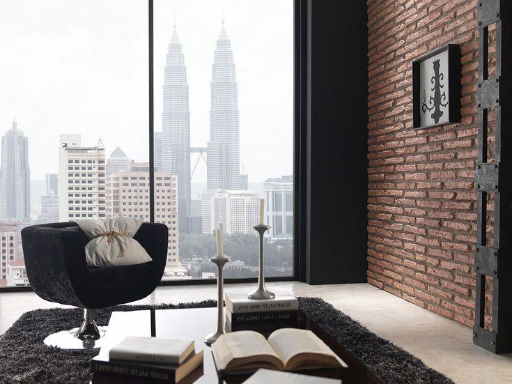 Un modelo de panel decorativo que imita el ladrillo viejo, dando a tu casa u oficina un estilo moderno y actual. La variedad de colores de éste panel piedra hace que se adapte perfectamente a cada espacio, creando ambientes muy variados.