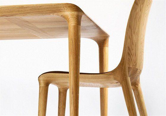 Židle a stůl Figure - detail