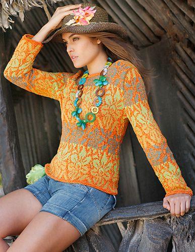 Ravelry: issue 30 Molokai Pullover pattern by Elisabeth Plauert
