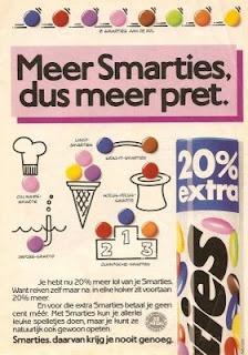 Retro Smarties reclame (anno 1982)