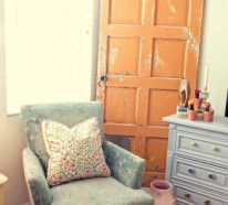 Haben Sie auch eine Leidenschaft für Wiederverwendes und nutzen Sie gerne alte Gegenstände zu einem neuen Zweck? Dekoartikel und DIY Möbel aus Zimmertüren