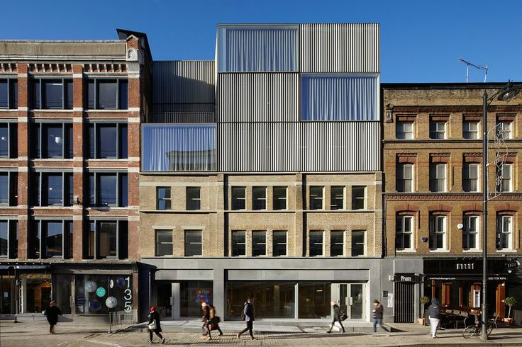 Duggan Morris Architects curtain road . london #architecture
