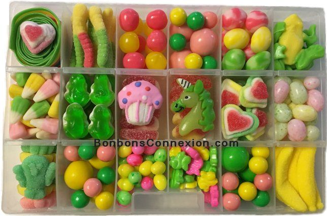 Our new candy kits are much larger than before and include 6 additional type of candy! Available in a variety of themes, they make wonderful gifts any season of the year!
