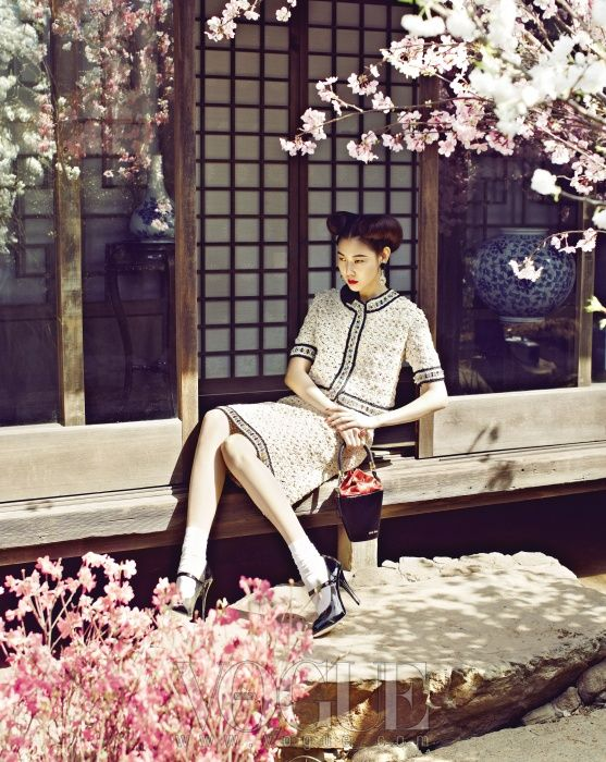 새침한 숙녀의 정원 산책 :: VOGUE.com