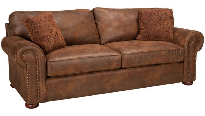 Klaussner Faux Leather Sofa Jordans Furniture