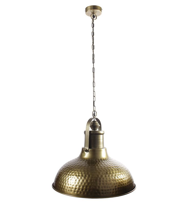 Ethnic Roots Brass Finish Metal Pendant Light by Ethnic Roots Online - Hanging Lights - Lamps & Lighting - Pepperfry Product