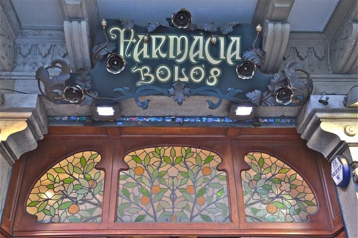Farmacia Bolos, Barcelona
