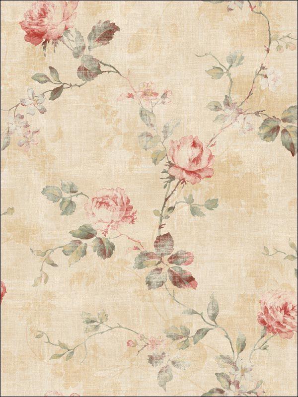 rosas beige sepia postal decoupage servilleta
