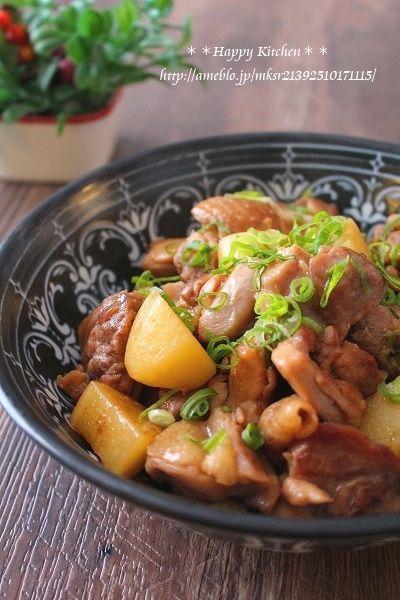 簡単美味しい!鶏肉とほくほくじゃがいものガーリック甘辛   たっきーママ オフィシャルブログ「たっきーママ@happy kitchen」Powered by Ameba