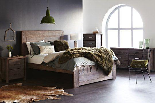 Marrakech Bed Frame: Queen Bed Frame  Snooze