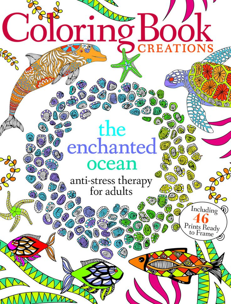 Coloring Book Creations The Enchanted Ocean