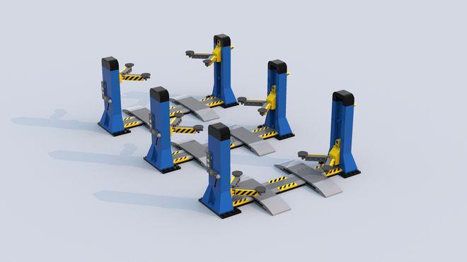 LEGO Ideas - Classic Car Garage - Car Lift, Engine Hoist, Air Compressor & Toolbox!