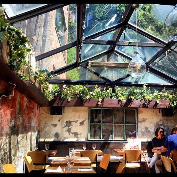 Beautiful atmosphere, good simple food. The place that sold Blythe on brussels sprouts.